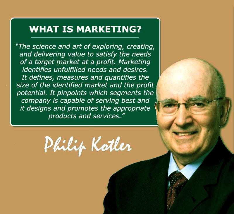 بازاریابی یا مارکتینگ – فیلیپ کاتلر (بخش سوم)