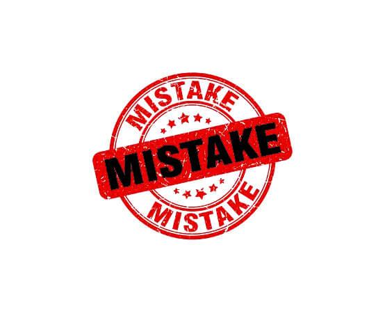 با خطا های ده گانه بیشتر آشنا شویم